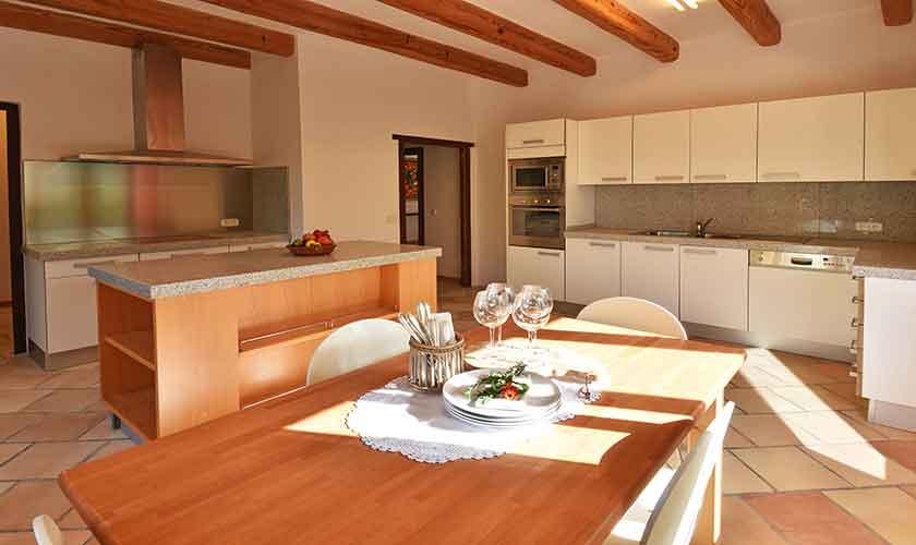 Küche Finca Mallorca Südosten PM 6621