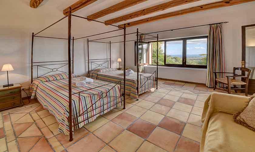 Schlafzimmer Finca Mallorca Südosten PM 6621
