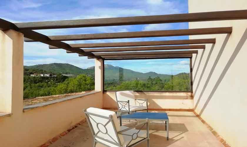 Obere Terrasse Finca Mallorca Südosten PM 6621