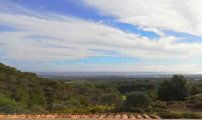 Blick in die Landschaft Finca Mallorca Südosten PM 6621