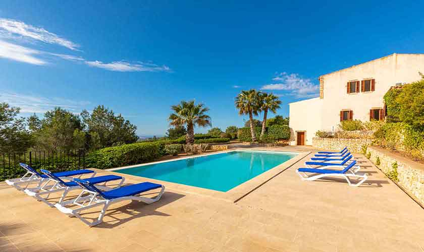 Pool und Finca Mallorca Vall d´Or PM 6621
