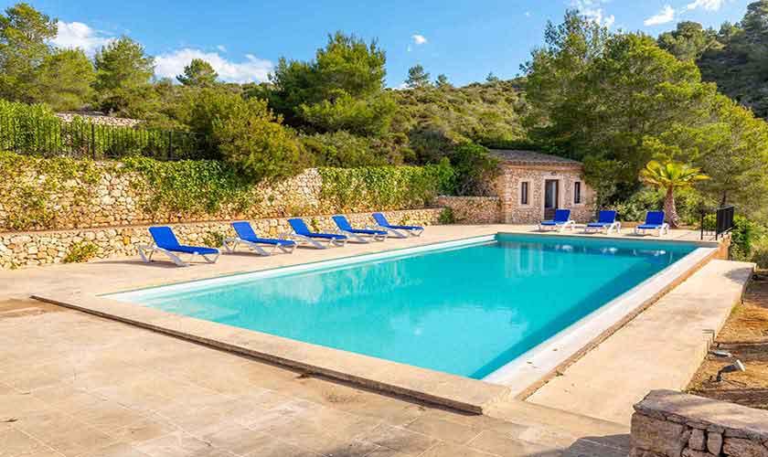 Poolblick Finca Mallorca Vall d´Or PM 6621