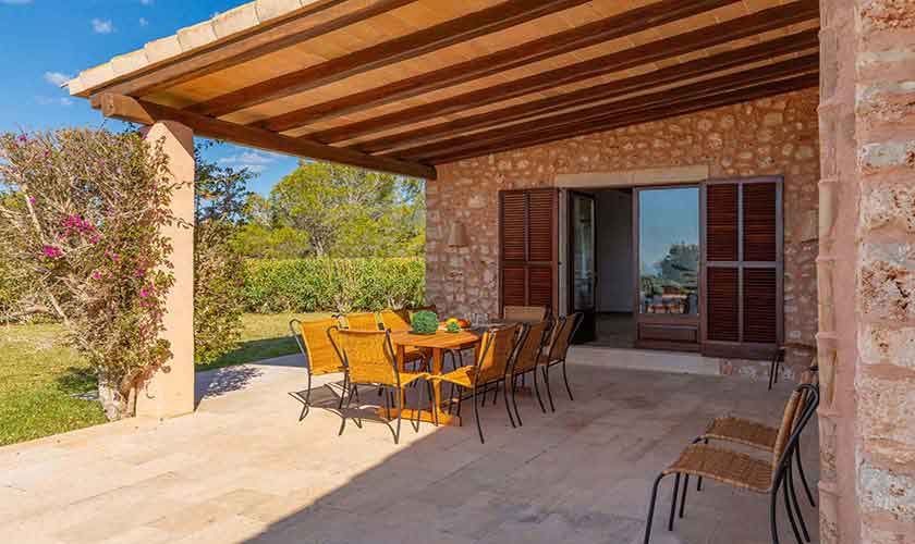 Terrasse Finca Mallorca Vall d´Or PM 6621