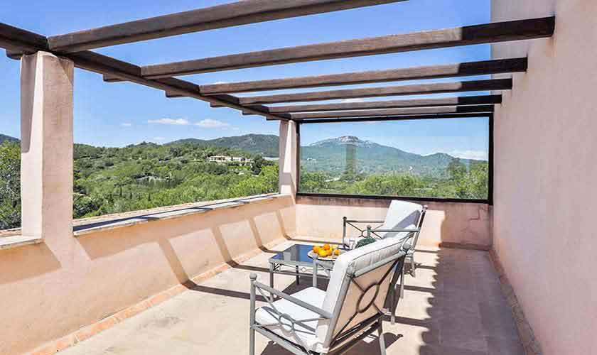 Terrasse oben Finca Mallorca Vall d´Or PM 6621