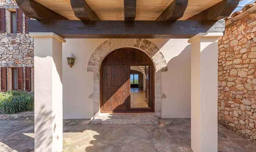 Entrada Finca Mallorca Vall d´Or PM 6621