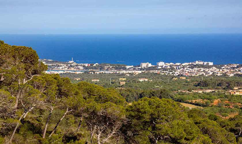 Landschaft Blick von der Finca Mallorca Vall d´Or PM 6621