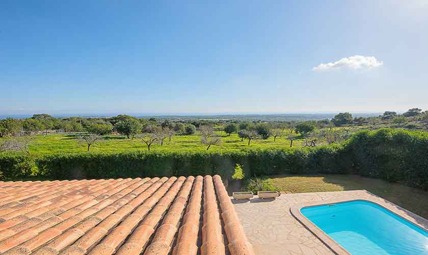Blick von der Ferienfinca Mallorca PM 6522