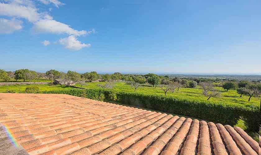 Blick von oben Ferienfinca Mallorca PM 6522