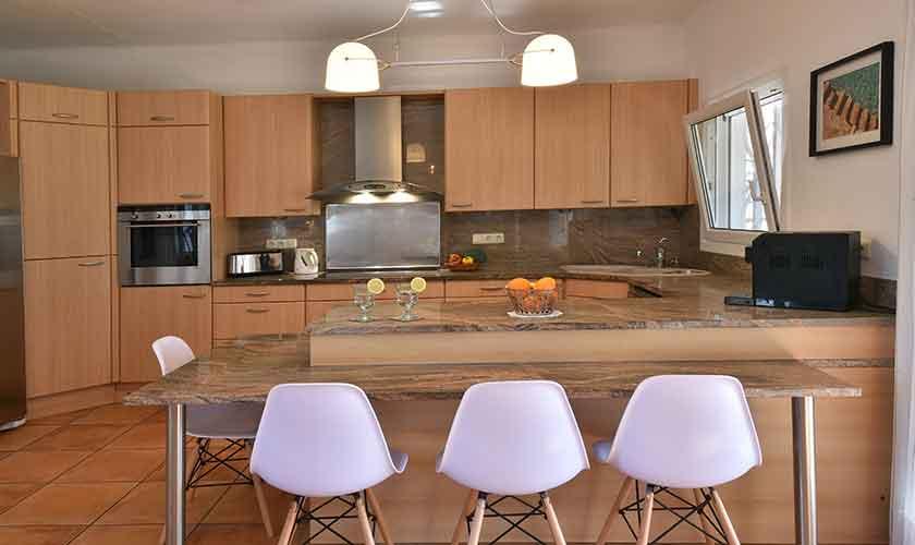 Küche Ferienhaus Mallorca 6 Personen PM 6623