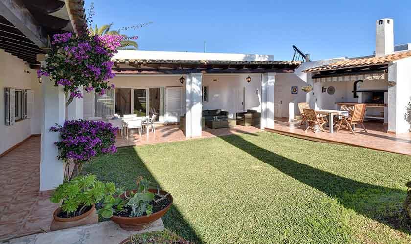 Garten Ferienhaus Mallorca 6 Personen PM 6623