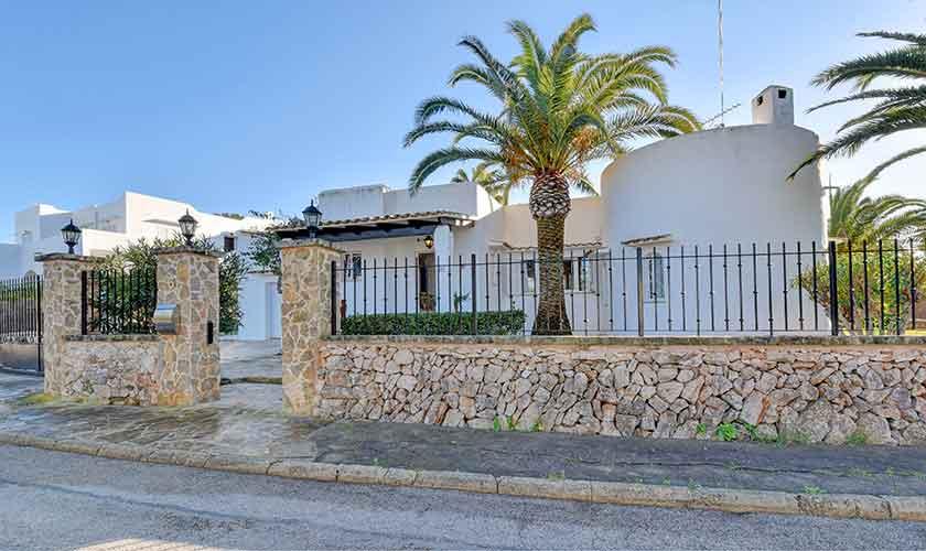 Blick auf das Ferienhaus Mallorca 6 Personen PM 6623