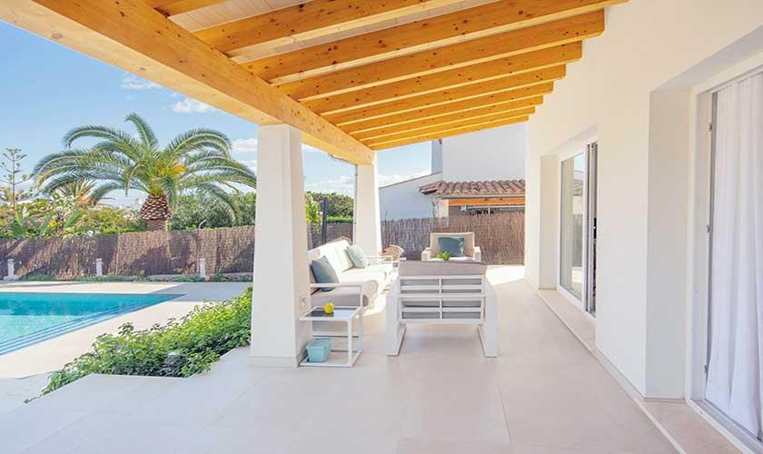 Terrasse Ferienvilla Mallorca PM 6624