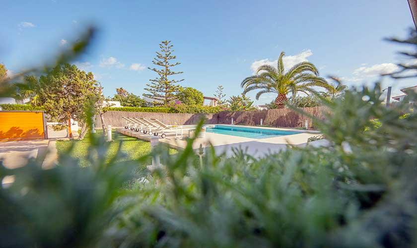 Poolblick und Ferienvilla Mallorca PM 6624