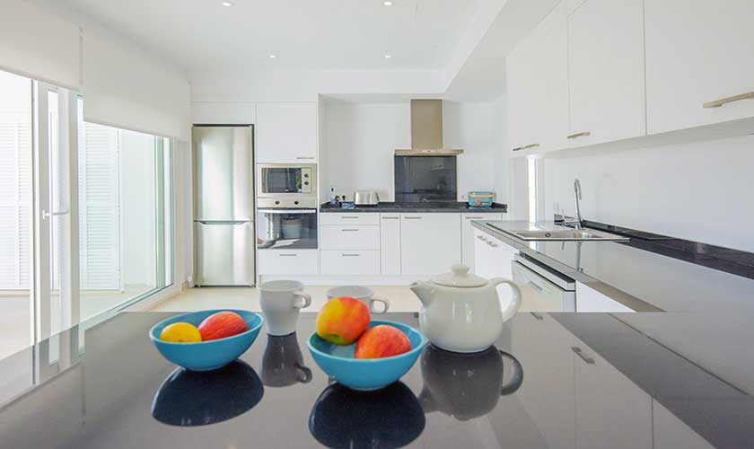 Küche Ferienvilla Mallorca PM 6624
