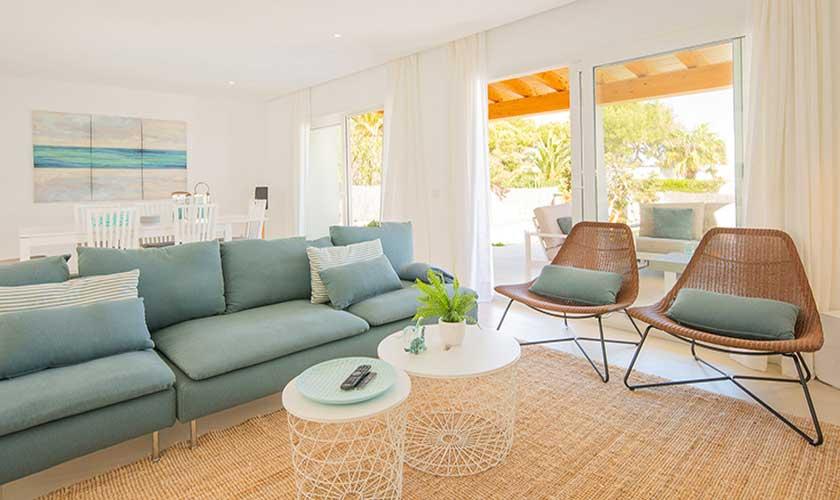 Wohnraum Ferienvilla Mallorca PM 6624