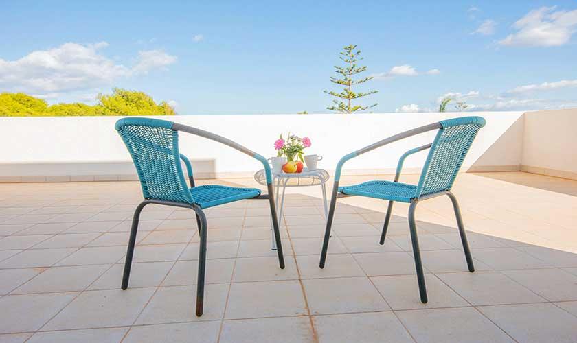 Dachterrasse Ferienvilla Mallorca PM 6624