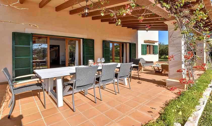 Esstisch Terrasse Finca Mallorca für 10 Personen PM 6624