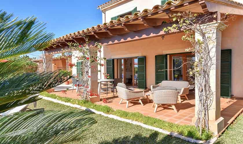Terrase Finca Mallorca für 10 Personen PM 6624