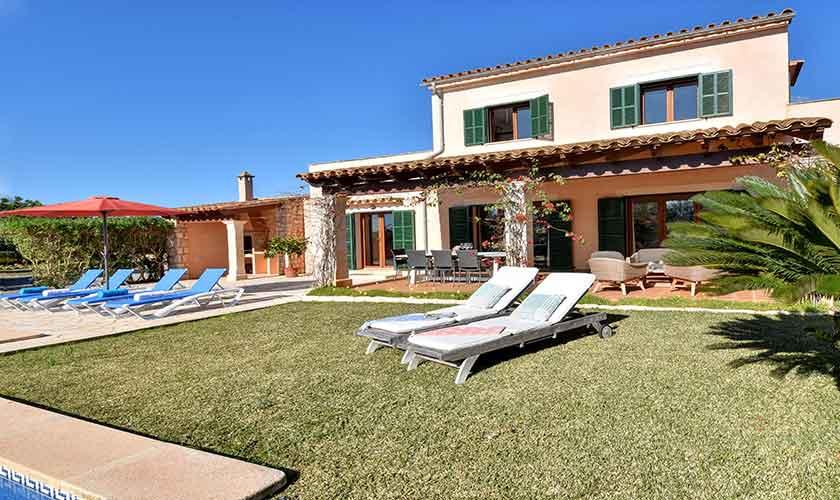 Garten und Finca Mallorca für 10 Personen PM 6624