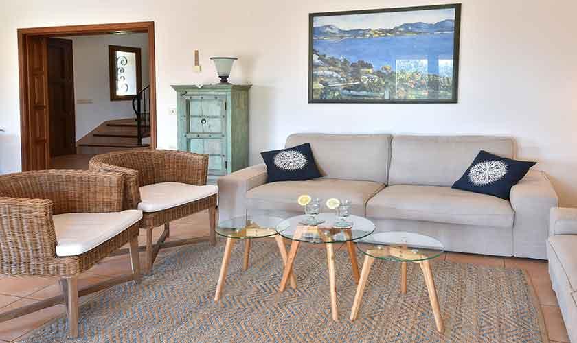 Wohnraum Finca Mallorca für 10 Personen PM 6624