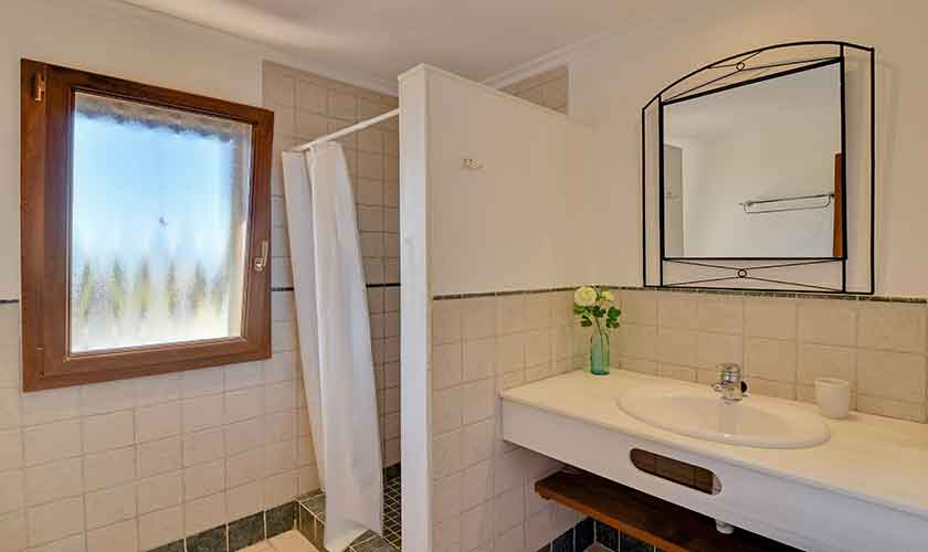 Badezimmer Finca Mallorca für 10 Personen PM 6624