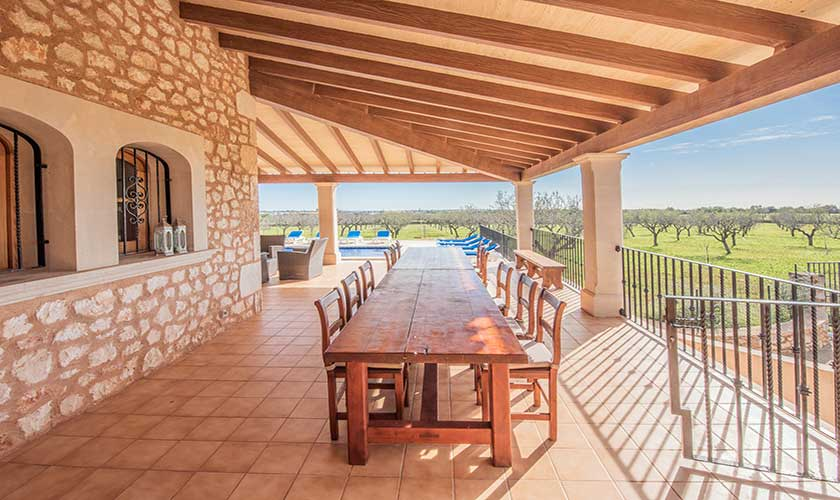 Esstisch Terrasse Finca Mallorca PM 6625