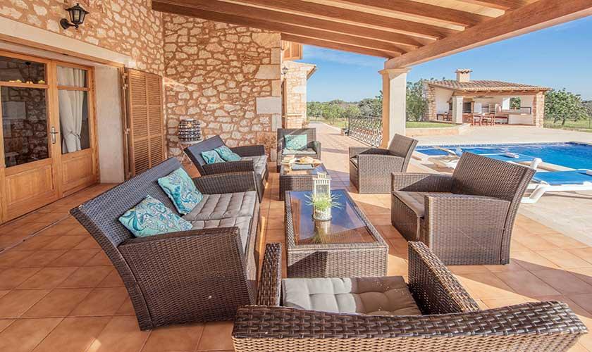 Lounge Möbel Terrasse Finca Mallorca PM 6625