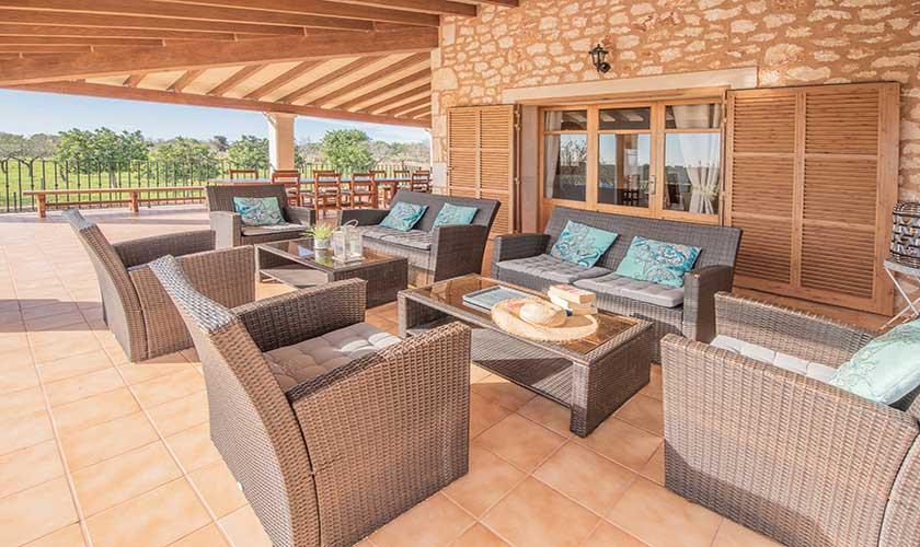 Lounge Terrasse Finca Mallorca PM 6625