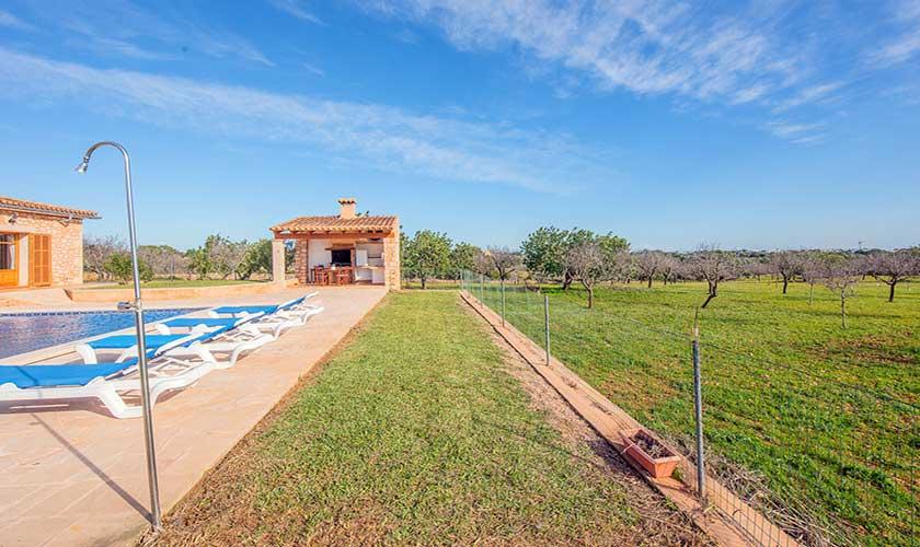 Pool und Landschaft Finca Mallorca PM 6625
