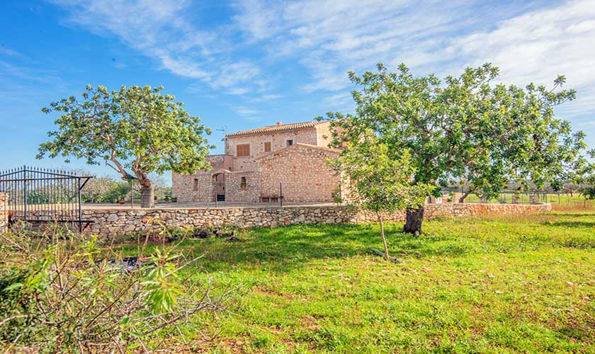 Blick auf die Finca Mallorca PM 6625