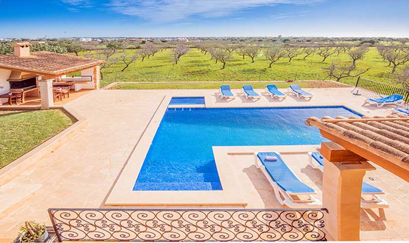 Pool und Kinderpool Finca Mallorca PM 6625