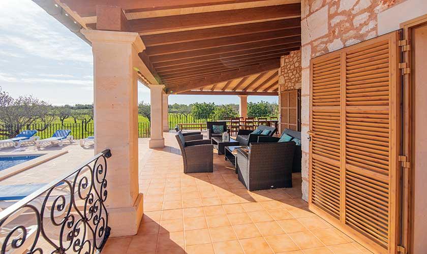 Terrasse Finca Mallorca PM 6625