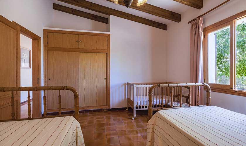 Schlafzimmer Finca Mallorca PM 6630