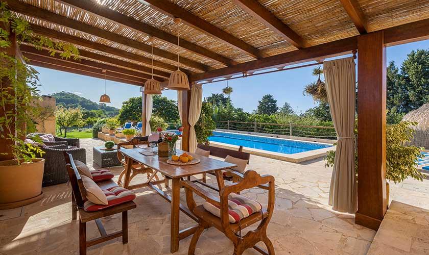Pool und Terrasse Finca Mallorca PM 6630