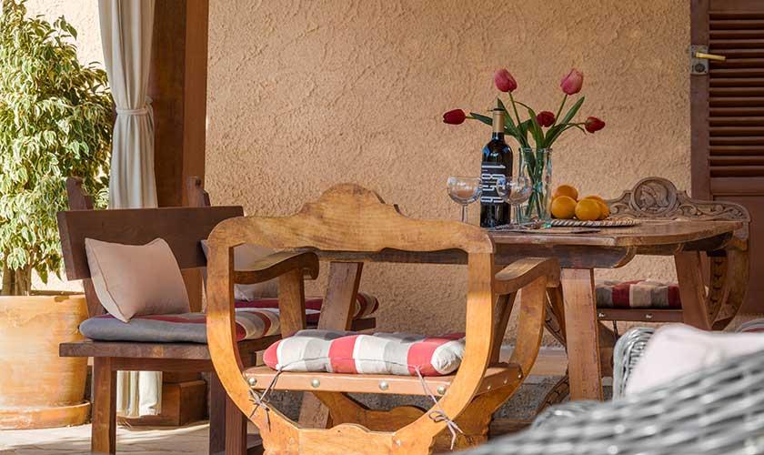 Essplatz Terrasse Finca Mallorca PM 6630