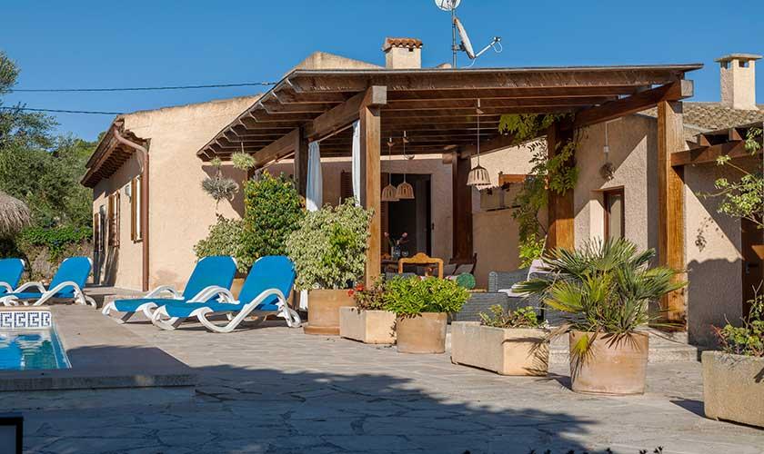 Terrasse Finca Mallorca PM 6630