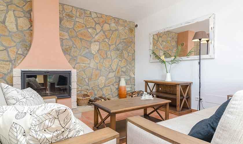 Wohnraum Ferienhaus Mallorca 16 Personen PM 6650