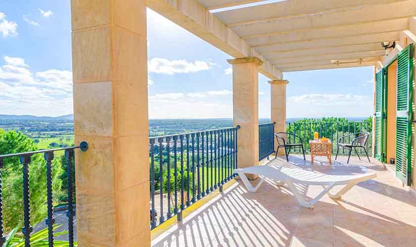 Balkon Ferienhaus Mallorca 16 Personen PM 6650