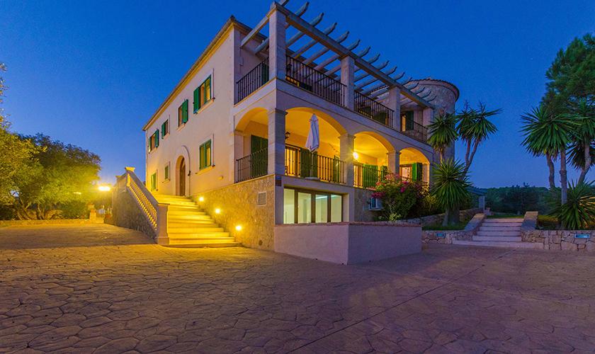 beleuchtet Ferienhaus Mallorca 16 Personen PM 6650