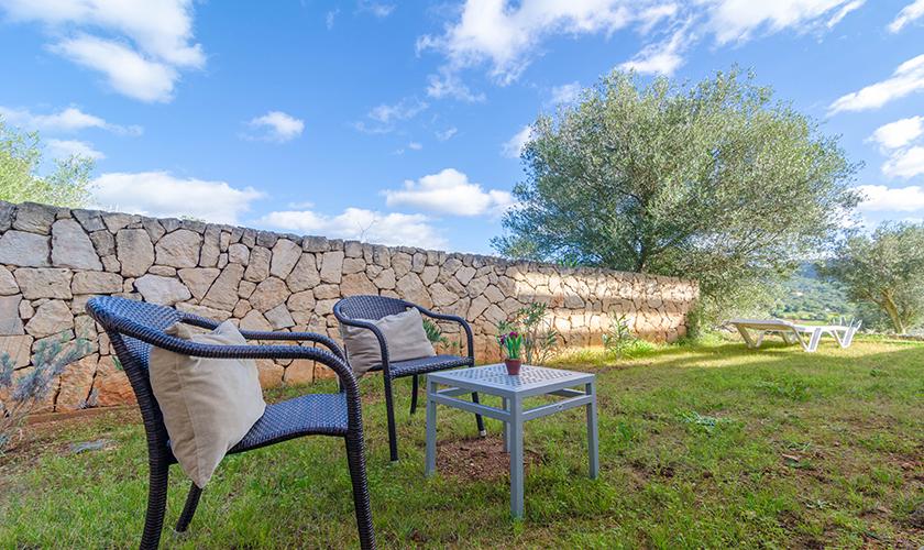 Terrasse Ferienhaus Mallorca 16 Personen PM 6650