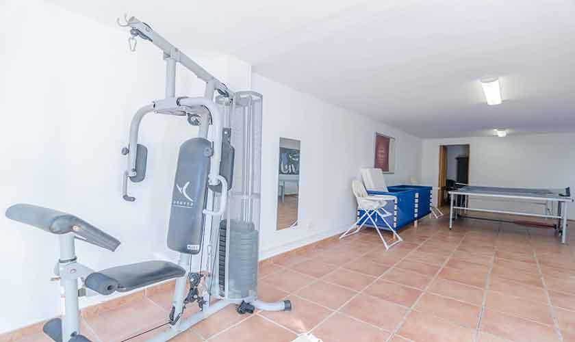 Fitness Ferienhaus Mallorca 16 Personen PM 6650