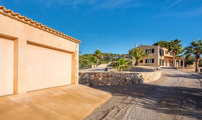 Blick auf die Finca Mallorca bei Felanitx PM 678