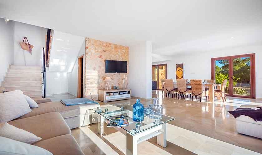 Wohnraum Finca Mallorca bei Felanitx PM 678