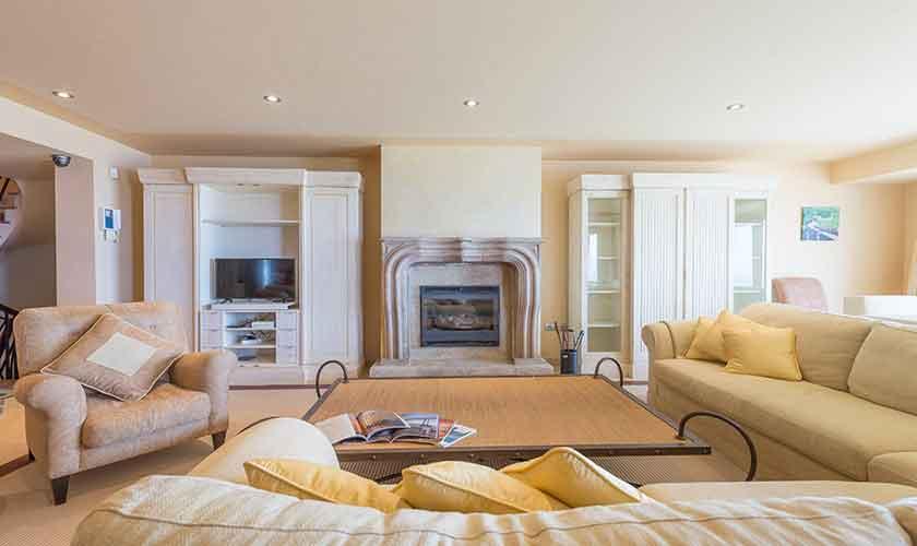 Wohnraum Luxusvilla Mallorca PM 6905