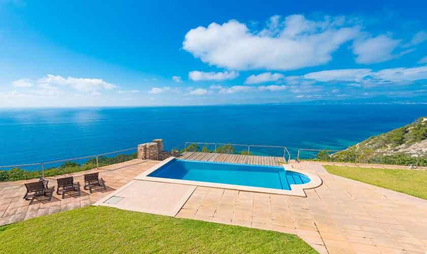 Pool und Meerblick Luxusvilla Mallorca PM 6905