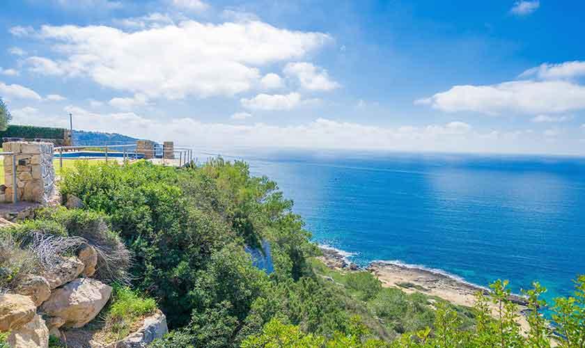 Küste und Meerblidk Luxusvilla Mallorca PM 6905