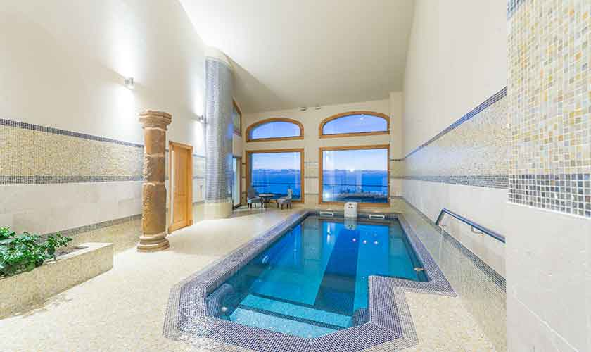Indoor- Pool Hallenbad Luxusvilla Mallorca PM 6905