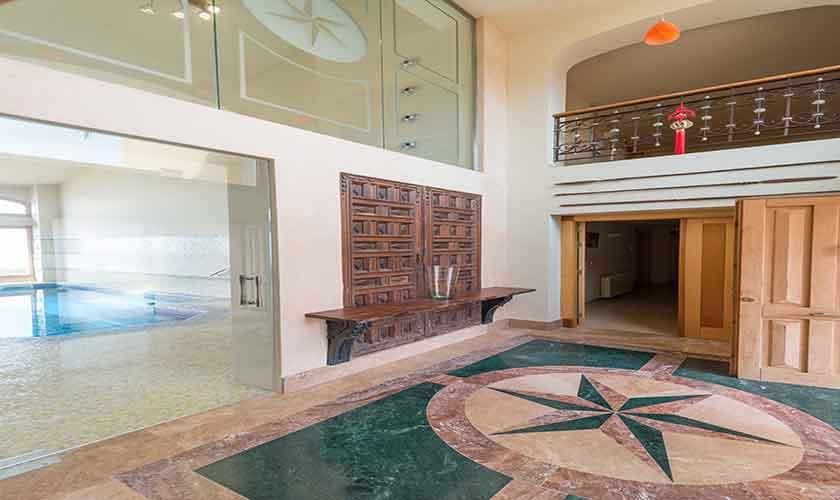 Hallenbad Luxusvilla Mallorca PM 6905