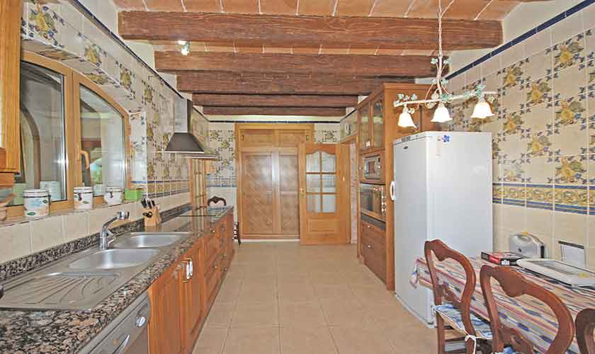 Küche Ferienhaus Mallorca Süden PM 6910