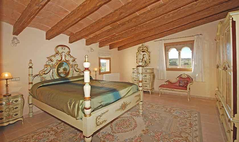 Schlafzimmer Ferienhaus Mallorca Süden PM 6910